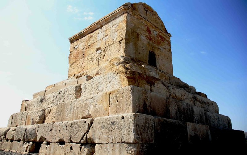 Tomb of Cyrus the Great (559-29 B.C.)
